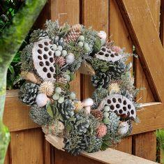 Spring Garden Door Wreaths
