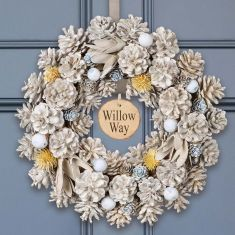 Personalised Wedgewood Wreath 14