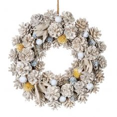 Honeysuckle Spring Door Wreath