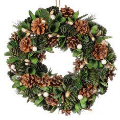 Wintergreen Door Wreath 14