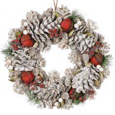 Bridgewater Tartan Wreath 13.5
