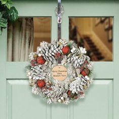 Personalised Highland Tartan Wreath 13.5