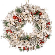Winter Snowdrop Wreath 16