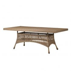 Extra Large Wicker Alfresco Garden Dining Table