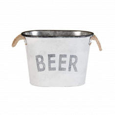 Rope Handle Beer Bucket