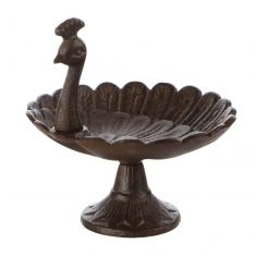Peacock Bird Bath