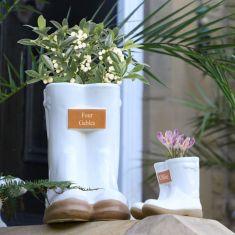 Personalised Little & Large Planter Set