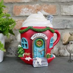 Hot Chocolate House Christmas Decoration
