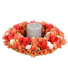 Rosewood Bloom Dining Table Centrepiece Wreath