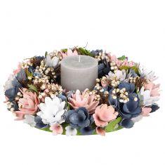 Cornflower Field Dining Table Centrepiece Wreath