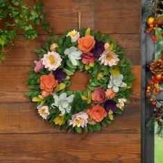 Secret Garden Multicoloured Autumn Wreath
