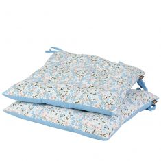 Set of 2 Floral Tie On Garden Seat Pads