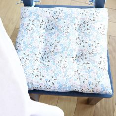 Set of 2 Sweet Pea Seat Pads with Ties