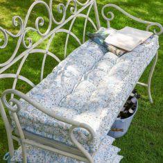 Sweet Pea Reversible Garden Bench Cushion