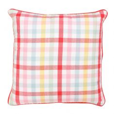 Chantilly Pastel Gingham Large Scatter Cushion Pillow
