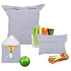 Set of 3 Riviera Re-usable Sandwich Bags
