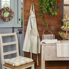 Millstone Striped Kitchen Linen Collection