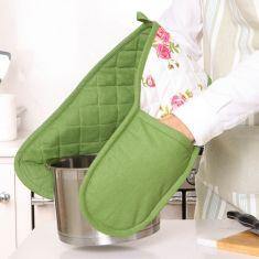 Helmsley Blush Floral Print Oven Gloves