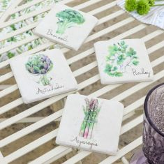 Set of 4 Botanical Allotment Coasters