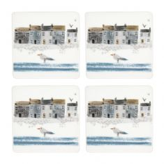 Set of 4 Nautical Coasters