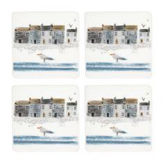 Set of 4 Nautical Coasters