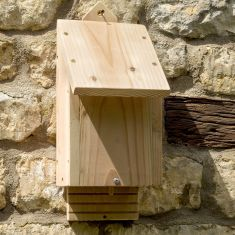 Natural Wooden Bat Box