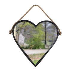 Hanging Heart Wall Mirror
