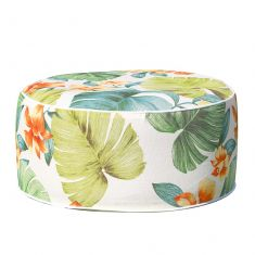 Tropical Palm Leaf Inflatable Garden Stool