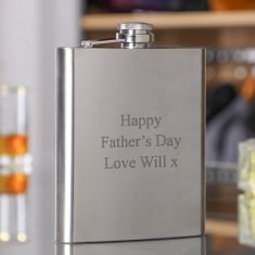 Personalised Giant 18oz. Hip Flask