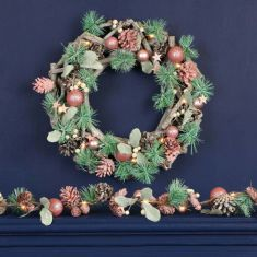 Sugared Pink Mantel Collection