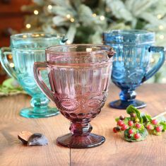 Embossed Coloured Cocktail Pitcher Jugs