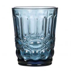 Aurielle Sapphire Blue Glass Tumbler