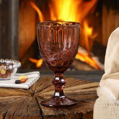 Aurielle Amethyst Wine Goblet