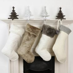 Nordic Knit Christmas Stockings