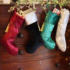 Kensington Luxury Velvet Christmas Stockings