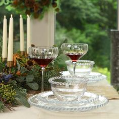 Winter Luxury Dining Tablescape