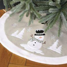 Festive Friends Christmas Tree Skirt