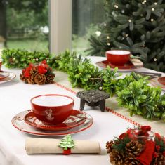 Dress the Table Red Reindeer Collection