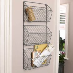 Large Charcoal Grey Storage Rack