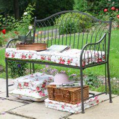 Hampton Grey Garden Bench