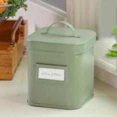 Sage Green Kitchen Storage Caddy