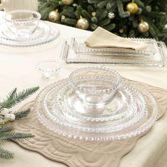 White Snowscape Tableware