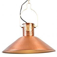 Copper Farmhouse Kitchen Ceiling Light