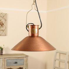 Copper Farmhouse Kitchen Ceiling Light