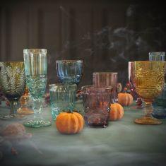 Moonlight Masquerade Glassware Collection