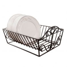 French Country Dish Drainer Rack