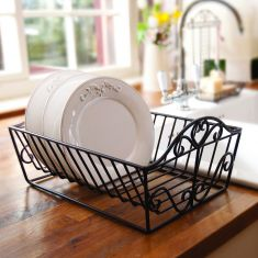 French Farmhouse Dish Drainer Rack