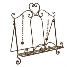 Amelie Antique Brown Cookbook Stand