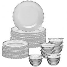 Luxury 30 Piece Bella Perle Dinner Set