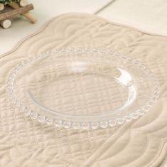 Bella Perle Beaded Glass Side Plate